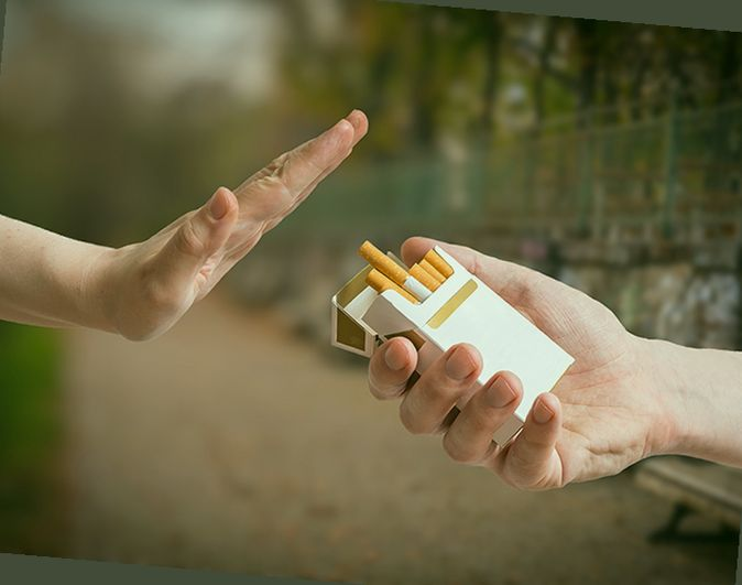 does smoking on wellbutrin make you sick